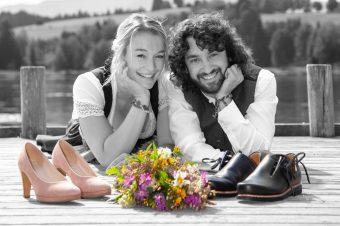 Hochzeitsfotos Murnau - Hochzeitsfotografie - Hochzeitsshooting - Hochzeitsfotograf - Foto Stoess 1