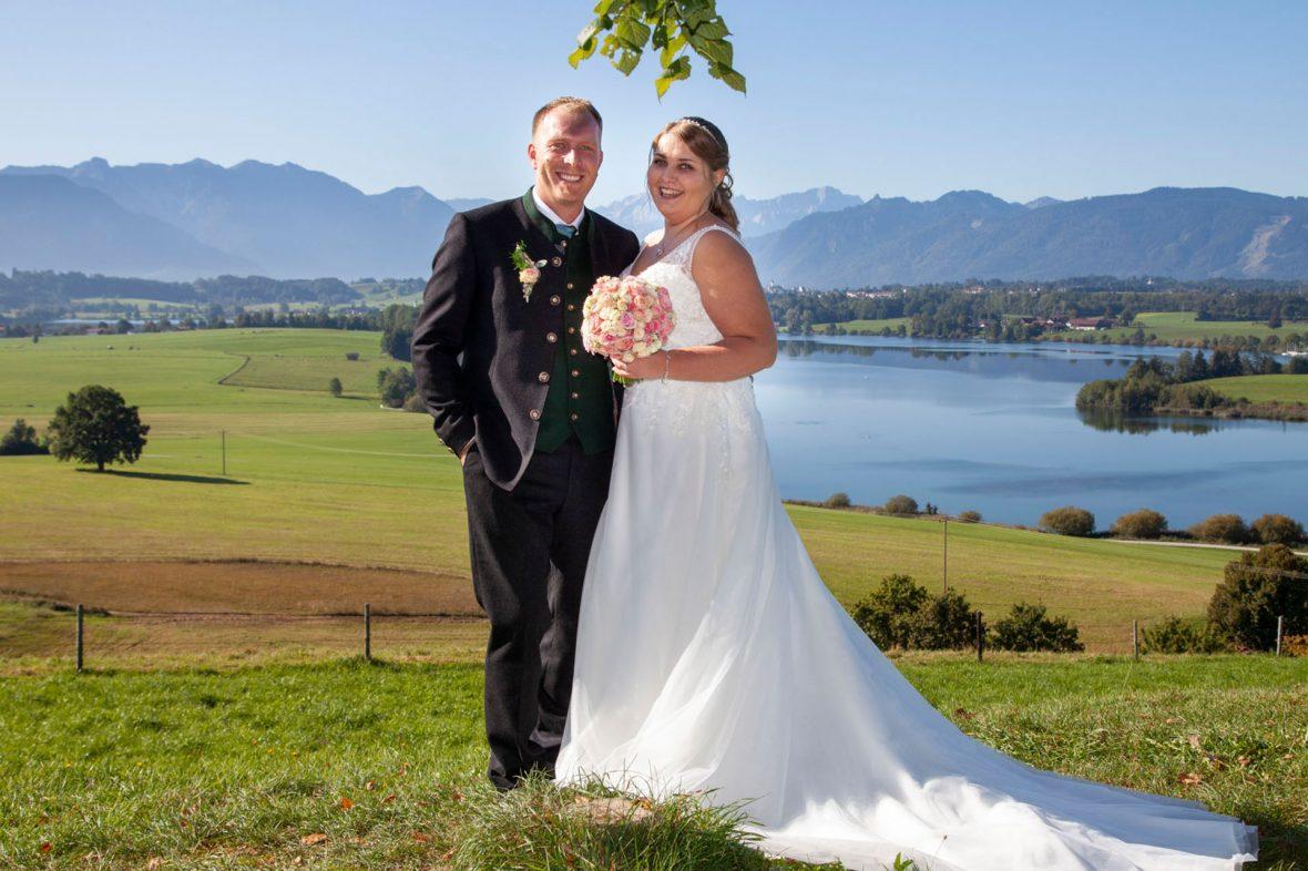 Hochzeitsshooting in Murnau und Umgebung - Hochzeitsfotos Murnau - Hochzeitsfotografie - Hochzeitsfotograf - Foto Stoess