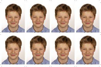 Passfotos 8er Set - Biometrische Passbilder - Fotograf Murnau-1